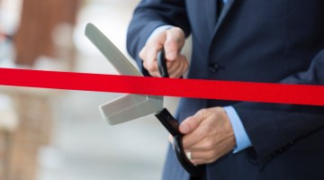 Opening, ribbon cutting, ribbon, groundbreaking, now open, new carwash, grand opening