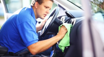Interior cleaning, interior detailing, car wash, mobile car wash, towel, car interior, cleaning, dashboard