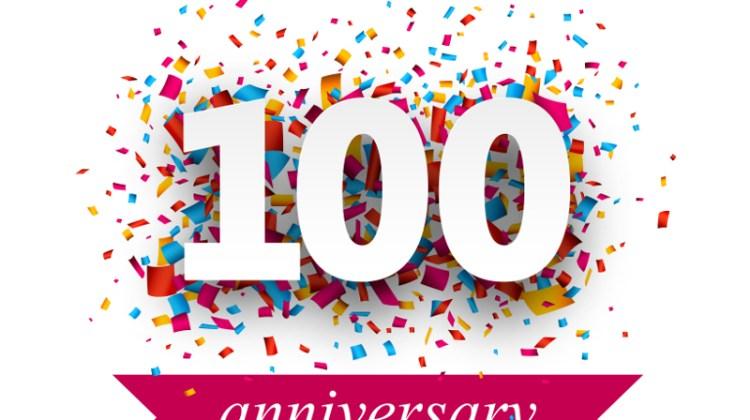 100th anniversary, 100 years, 100th birthday