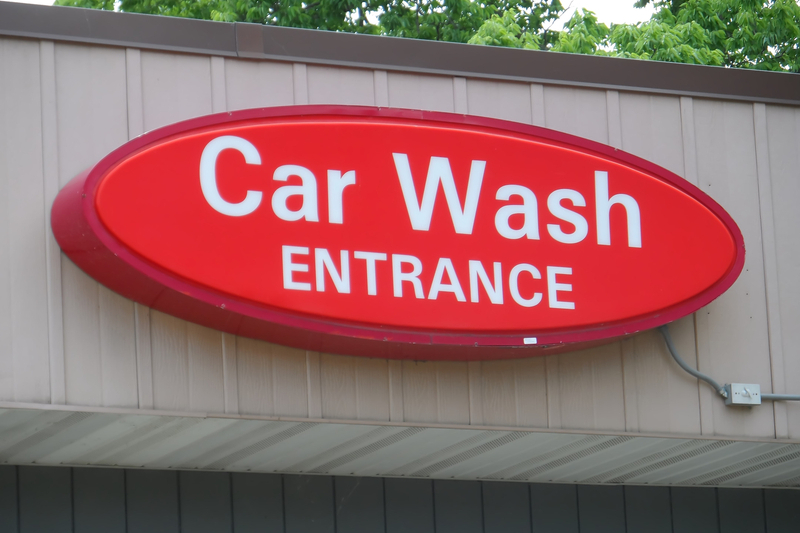 signage, carwash, car wash, car wash sign, signs, entrance