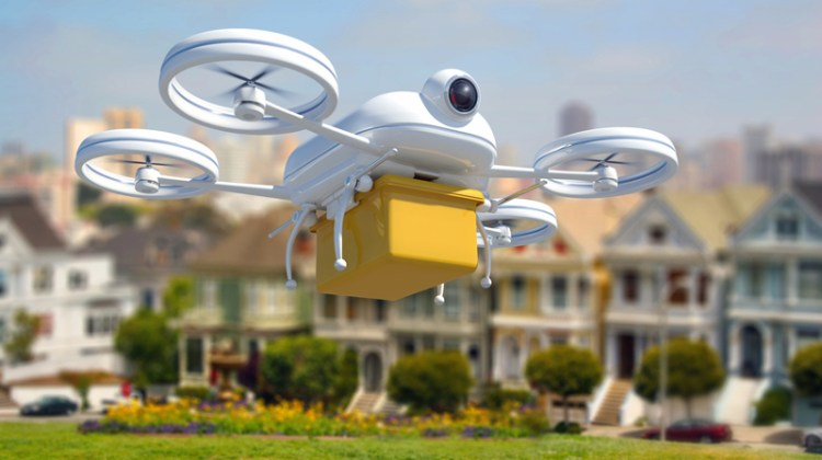 Drone, drones, technology, UAV, home delivery.