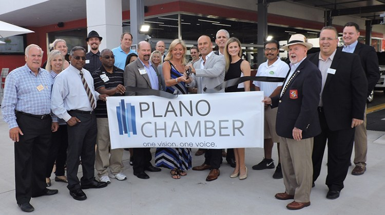 TradeMark Car Wash, Plano Chamber of Commerce, ribbon-cutting, grand opening
