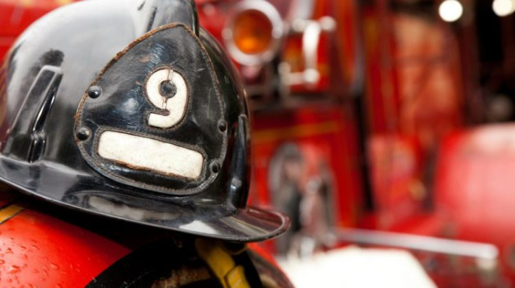 firefighter, firefighter helmet, helmet, fire truck, fire engine