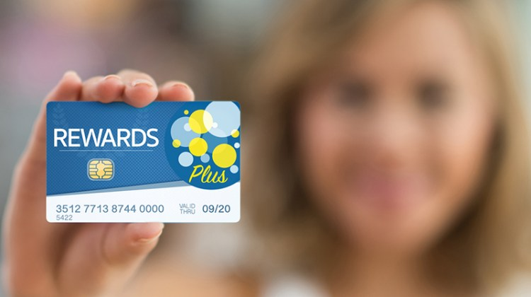 loyalty programs, rewards, card, woman, rewards card, RFID
