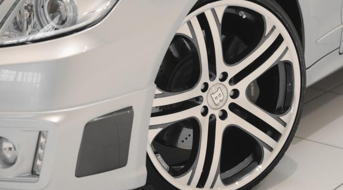 Brabus changed E-Class Coupe