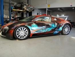 Bugatti Veyron by SkinzWraps