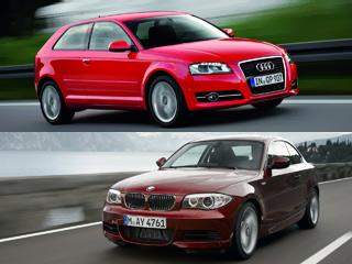 Comparing the Audi A3 and the BMW 1 Series