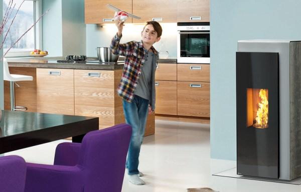 gamme de po le granul s de bois silencieux pour un meilleur confort. Black Bedroom Furniture Sets. Home Design Ideas