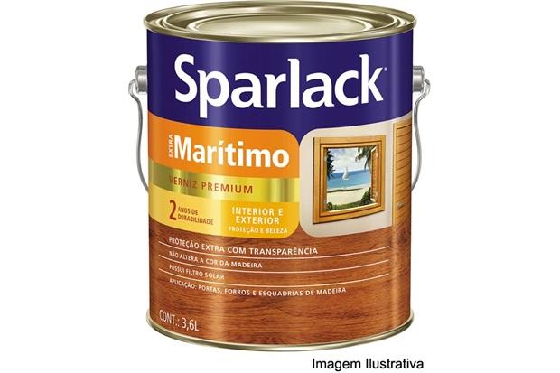 Verniz Sparlack Extra Marítimo brilho 3,6 L