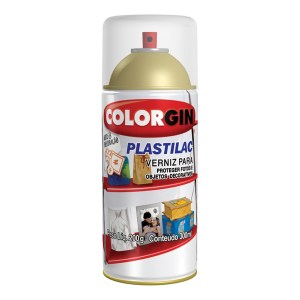 Verniz Spray Colorgin Plastilac – Incolor Brilhante 300ml