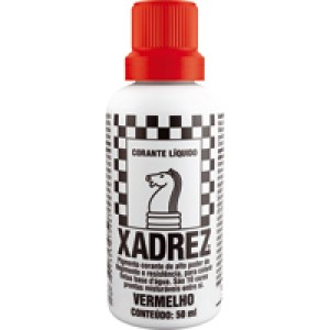Corante Liquido Xadrez Sherwin Williams – Vermelho 50 ml