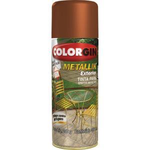 Tinta Spray Metallik Exterior – Cobre 350ml