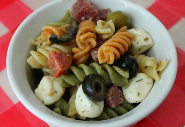 Italian Pasta Salad #picnicgame #summer