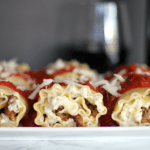 Lasagna Rolls for #SundaySupper