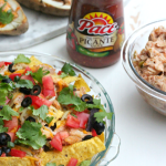 2-ingredient slow cooker picante chicken (two recipes!)