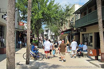 Pedestrian-only 11 blocks of St. George St.