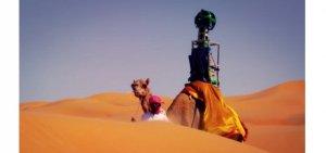 Google Street View nel deserto