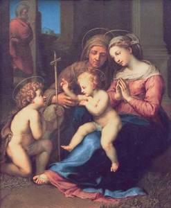 Madonna del Divino Amore di Raffaello