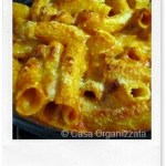 Ricette veloci: rigatoni al forno pomodoro e formaggi