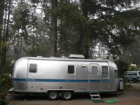 Some Oregon coastal campground.
