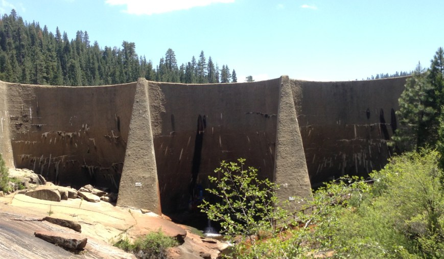 Hume Dam Face