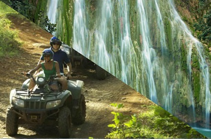 4-wheel ATV + El Limón waterfall