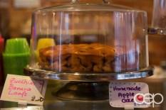 G... for Gelato and Espresso Bar — Homemade Apple Cake