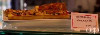 G... for Gelato and Espresso Bar — Homemade Focaccia