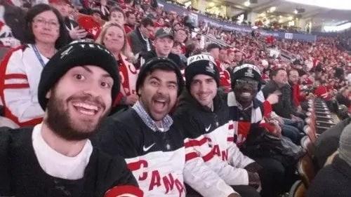 2015 IIHF World Junior Championship — Canada vs Denmark Quarterfinal — Jeff, Page, Joel and Casey