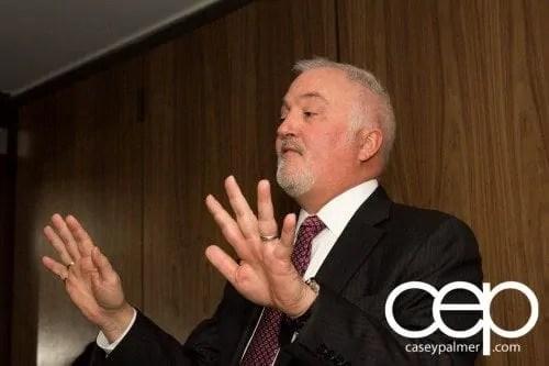 #CIASGM GM Canada President's Dinner — Montecito — President and Managing Director Stephen Carlisle