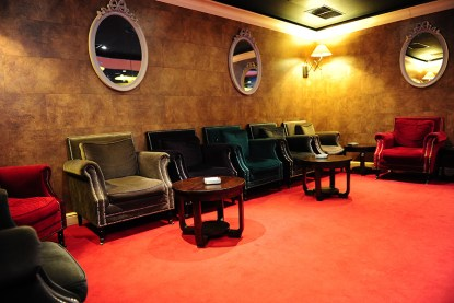 Casino Safir smoking room
