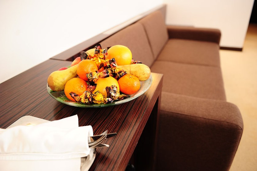 Hotel Safir sadje