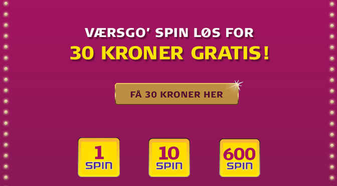 gratis casino bonus uden indskud