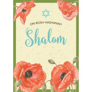 Distinctive Anemone Jewish New Year Cards Package By Mickie Caspi Anemone Jewish New Year Card By Mickie Caspi Rosh Hashanah Cards 2015 Rosh Hashanah Cards Templates Free