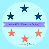 What will I do about voting?