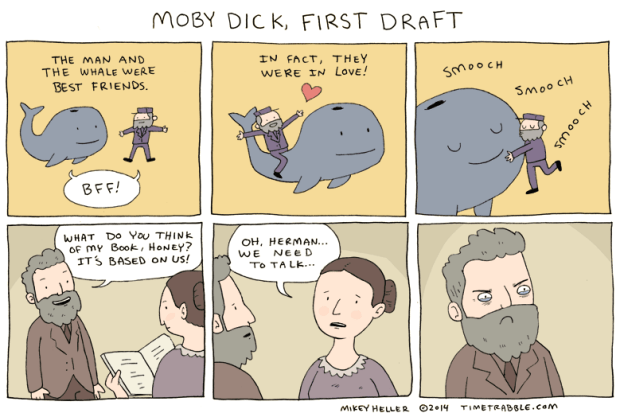 2014-01-20-Moby-Dick,-First-Draft