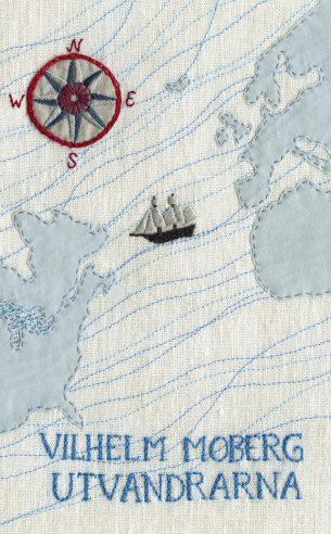 Utvandrarna by Vilhelm Moberg; design by Karin Holmberg (Bonnier Pocket / January 2013)