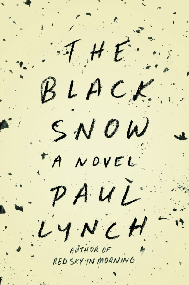 black snow cover design keith hayes
