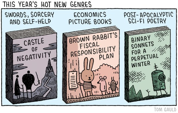 hot new genres tom gauld