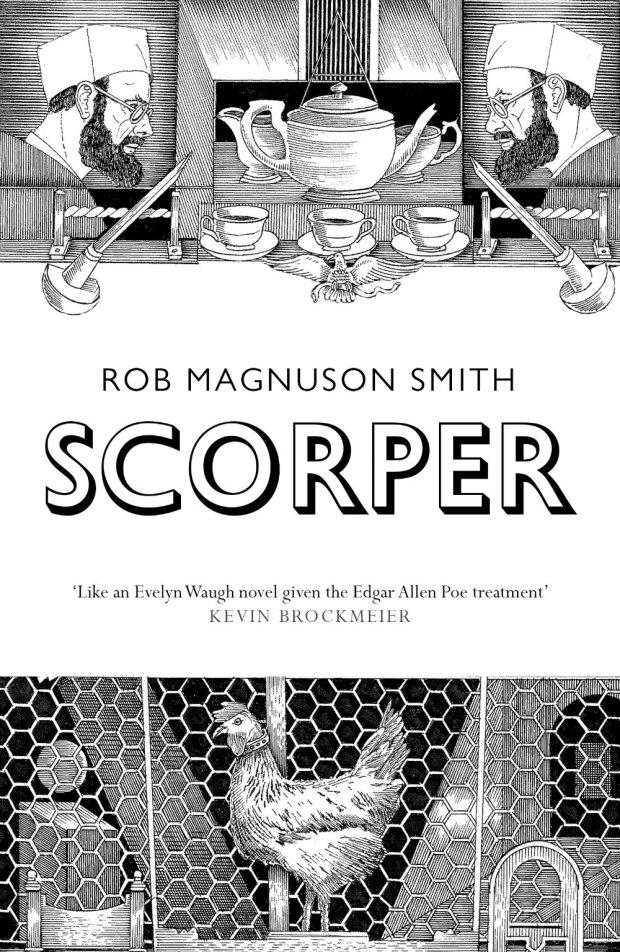 Scorper design by Dan Mogford