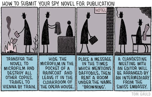 spy novel tom gauld