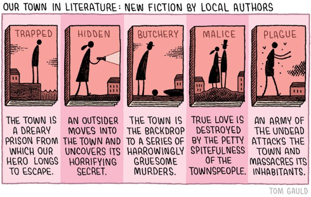 our town in literature tom gauld