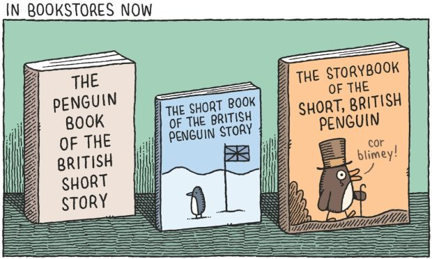 Penguin book of the British Short Story Tom Gauld