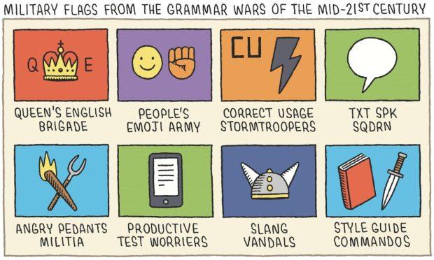 Grammar Wars Tom Gauld