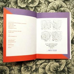 ABDA 16 Catalogue Stamp