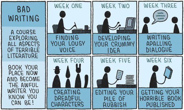 How to be a Bad Writer Tom Gauld