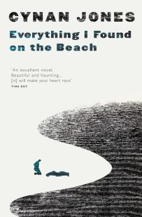 Everything I Found on the Beach by Cynan Jones; design Jenny Grigg