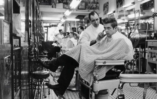Barber shop old school