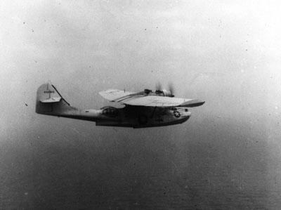 A rare photo of the original OA-10A Catalina 44-33915