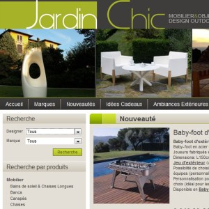 CATALOGUE JARDIN CHIC